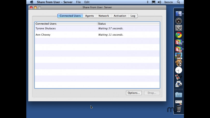 Share from User for Mac - review, screenshots
