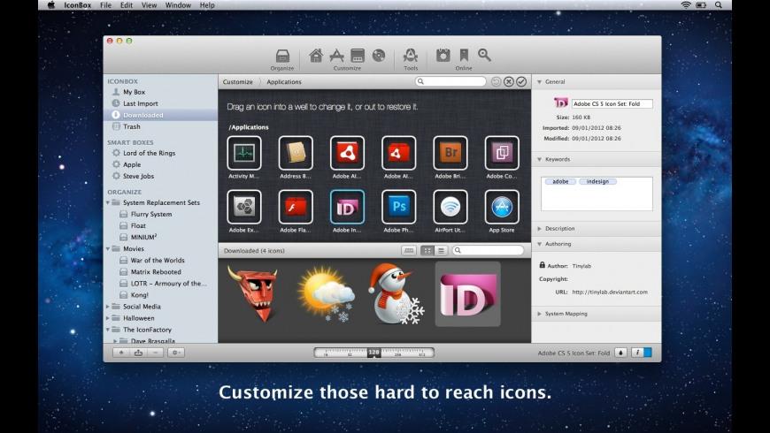 IconBox for Mac - review, screenshots