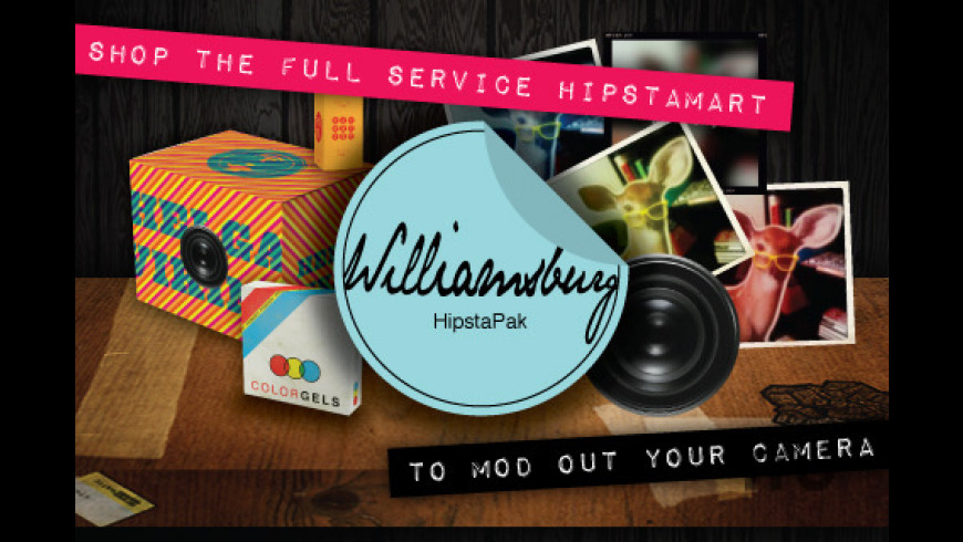 Hipstamatic for Mac - review, screenshots