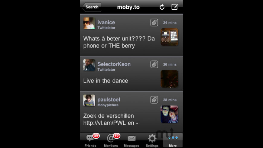 Twittelator Free for Twitter for Mac - review, screenshots
