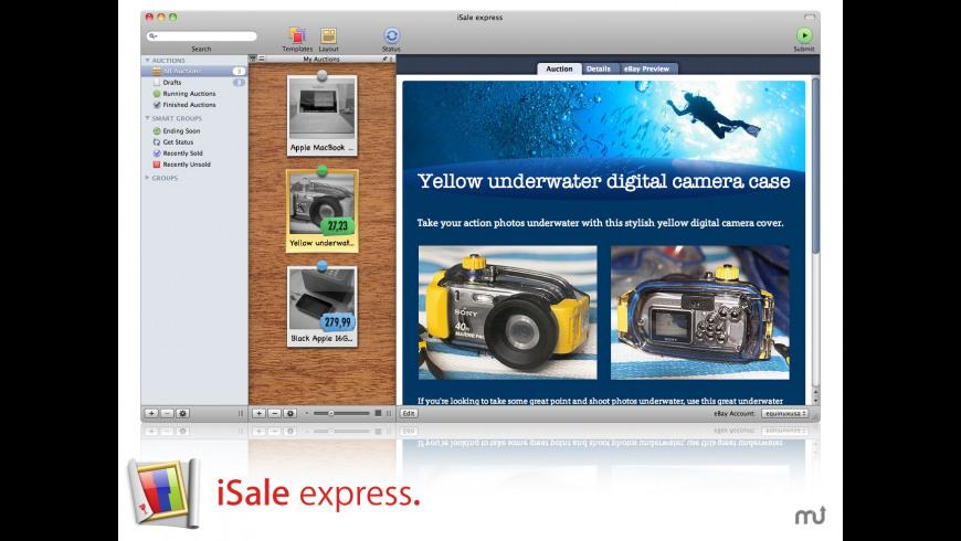 iSale express for Mac - review, screenshots