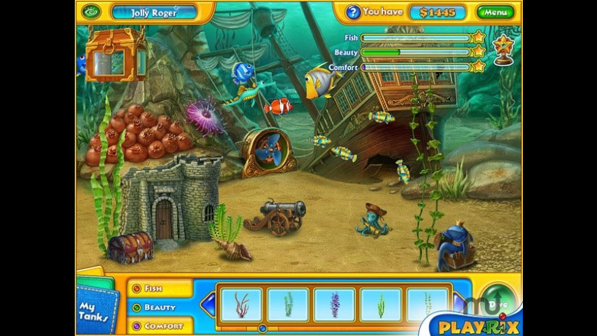 Fishdom H2O: Hidden Odyssey for Mac - review, screenshots