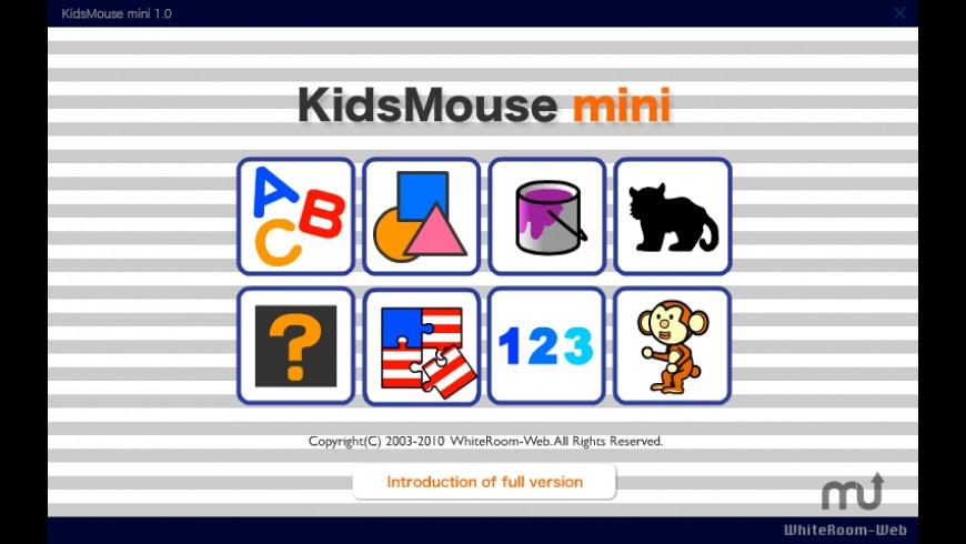 KidsMouse mini for Mac - review, screenshots