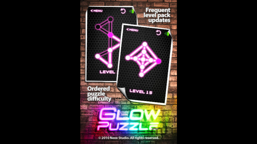 Glow Puzzle for Mac - review, screenshots
