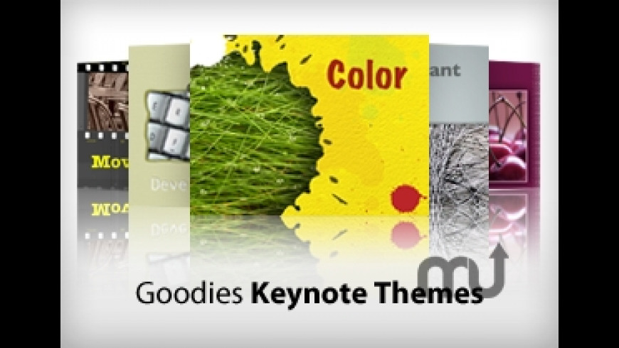 Goodies: Keynote Themes for Mac - review, screenshots