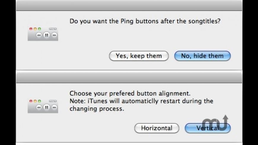 iTunes Button Changer for Mac - review, screenshots