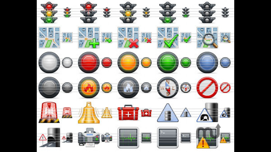 Standard Road Icons for Mac - review, screenshots
