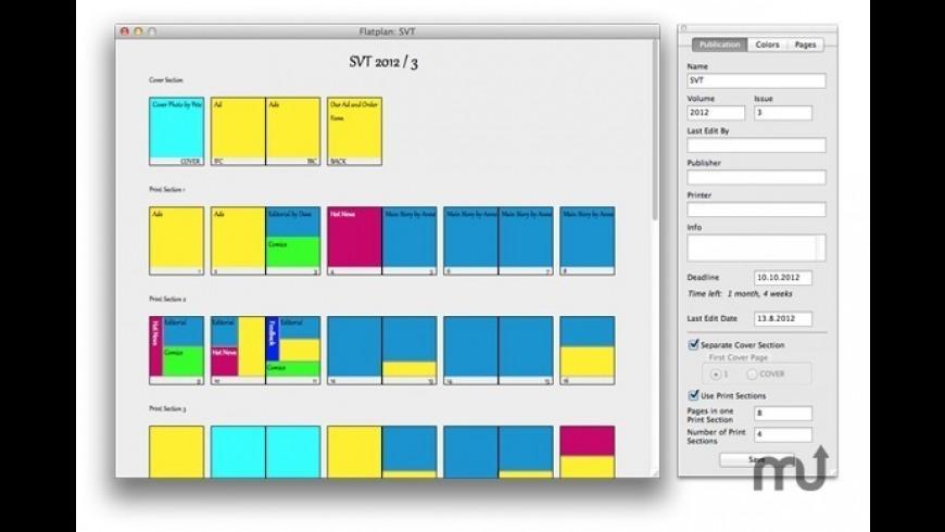 MacFlatplan for Mac - review, screenshots