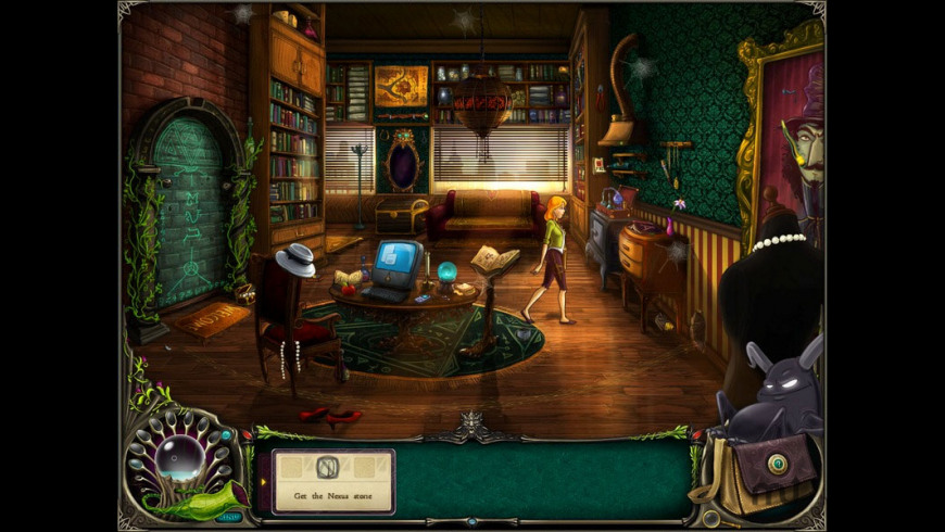 Brunhilda and the Dark Crystal for Mac - review, screenshots