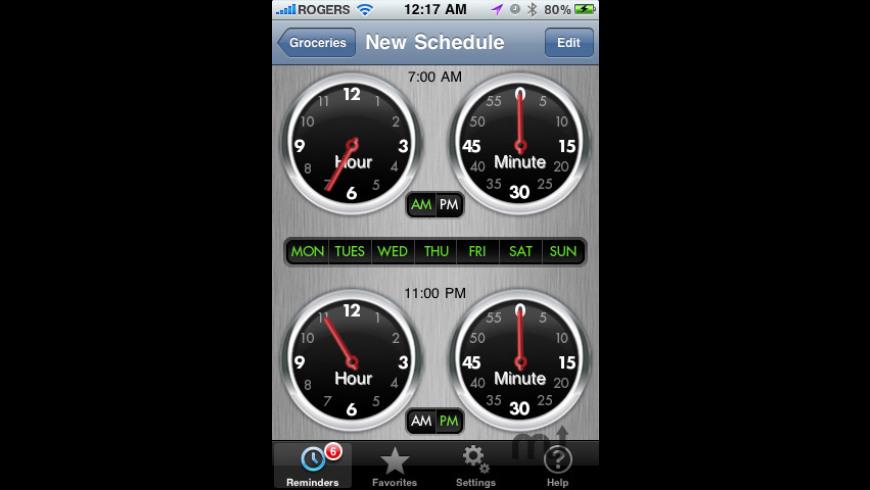 GPSMinder for Mac - review, screenshots