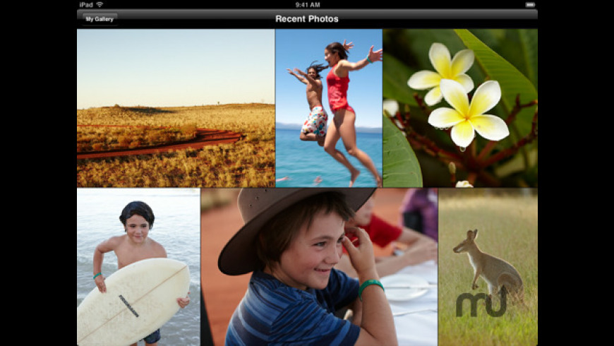 Apple MobileMe Gallery for Mac - review, screenshots