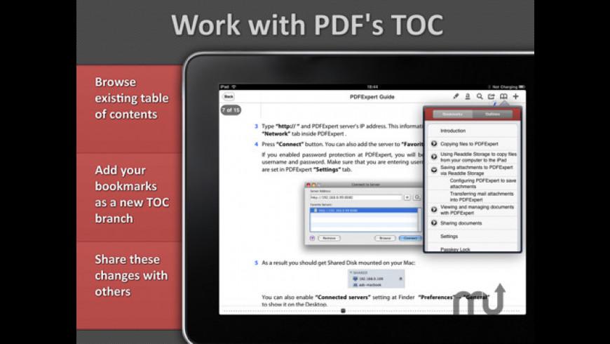 PDF Expert for iPad for Mac - review, screenshots
