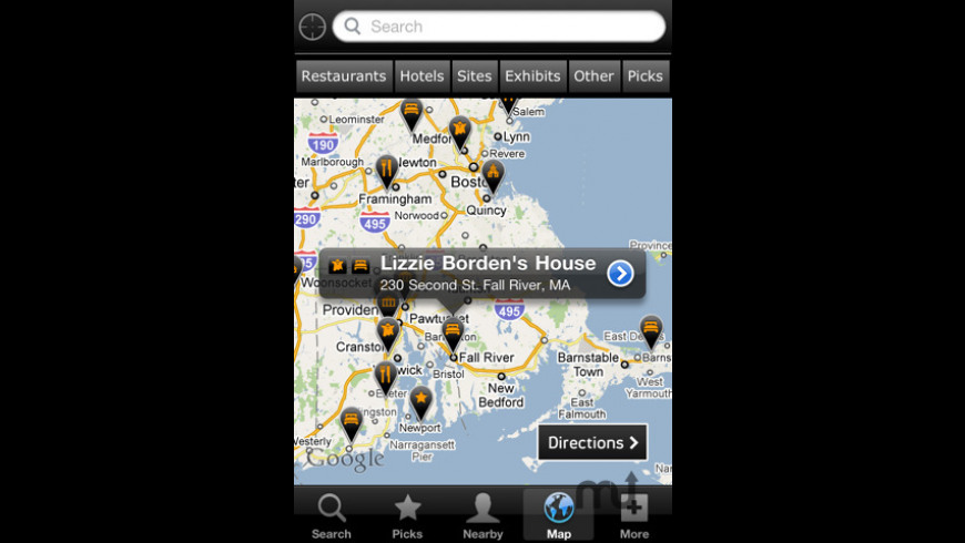Ghost Hunters Haunted House Finder for Mac - review, screenshots