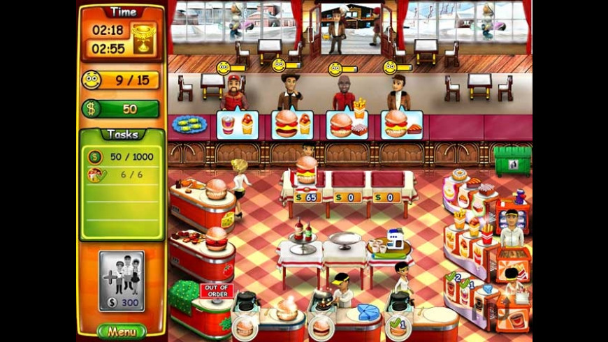 Burger Bustle for Mac - review, screenshots