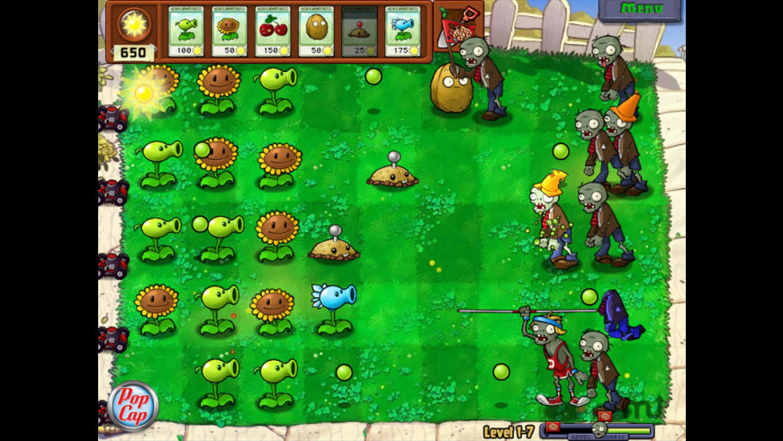 Plants vs Zombies & Peggle Nights for Mac - review, screenshots