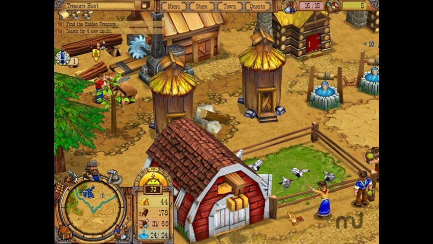 Westward II: Heroes of the Frontier for Mac - review, screenshots