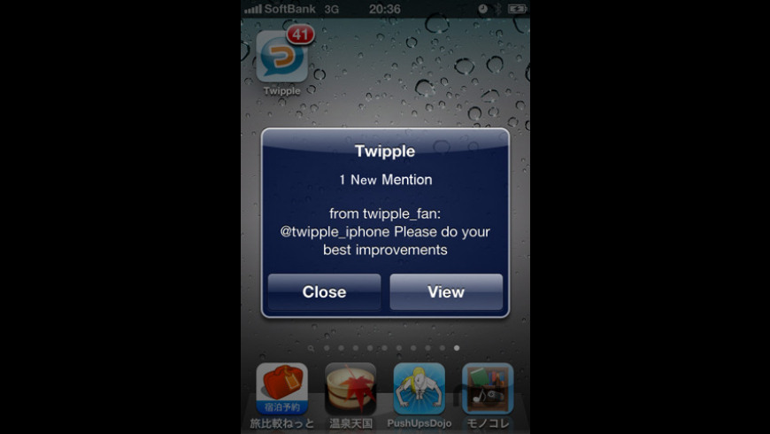 Twipple for iPhone for Mac - review, screenshots