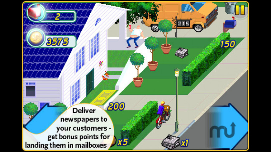 Paperboy: Special Delivery for Mac - review, screenshots