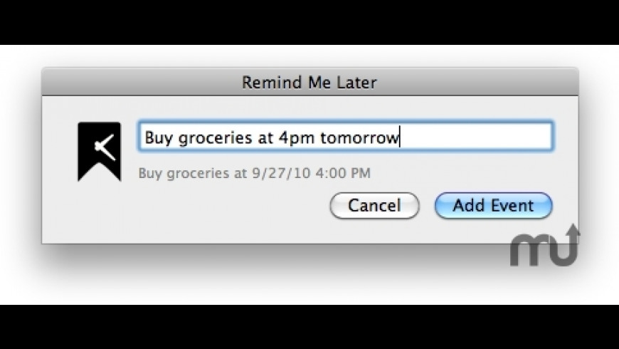Remind Me Later for Mac - review, screenshots