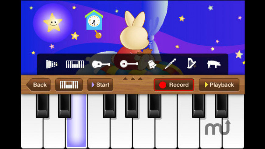 Twinkle Twinkle Little Star Piano for Mac - review, screenshots