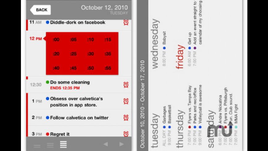 Calvetica Calendar for Mac - review, screenshots