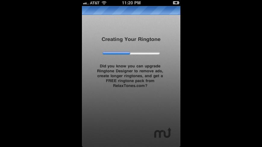 Ringtone Designer for Mac - review, screenshots
