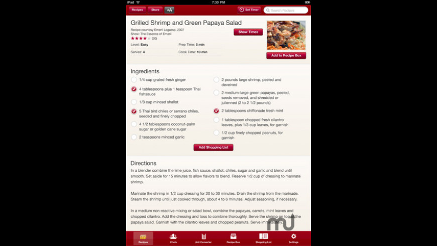In the Kitchen for Mac - review, screenshots