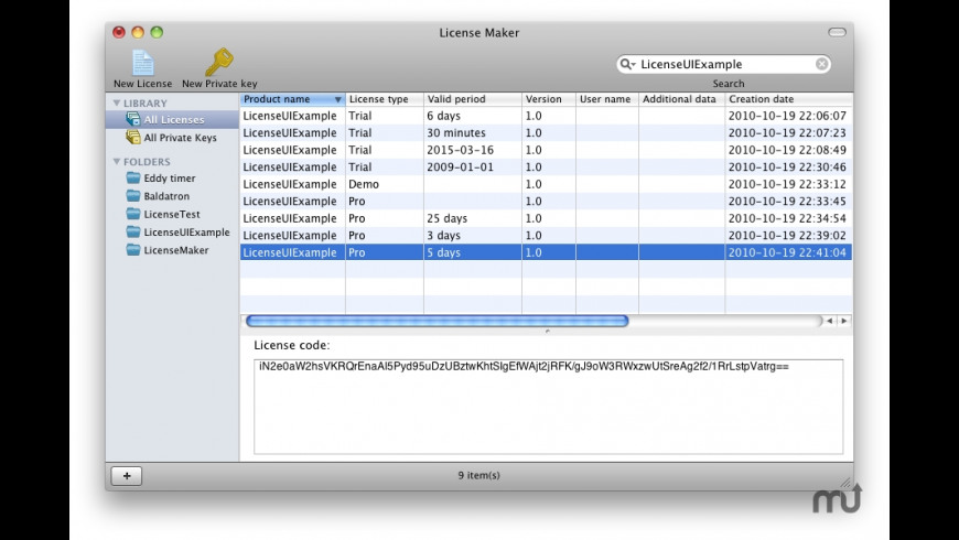 License Guard for Mac - review, screenshots