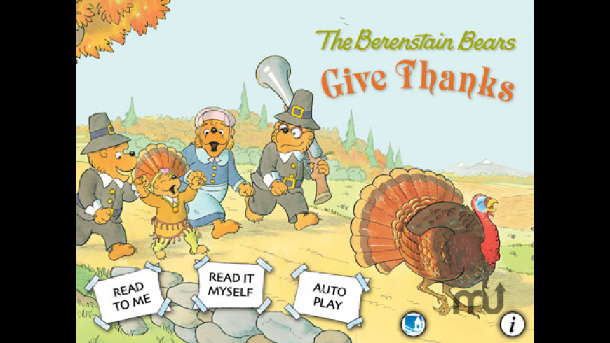 The Berenstain Bears Give Thanks for Mac - review, screenshots