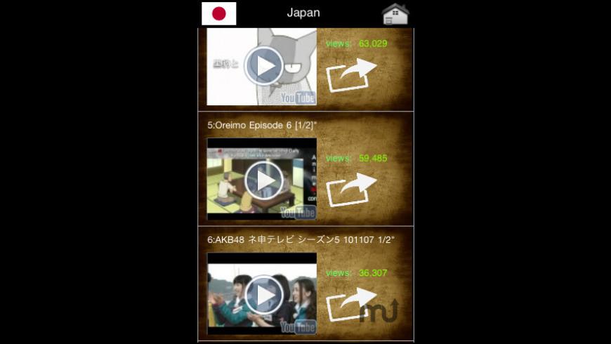 WorldTube for Mac - review, screenshots