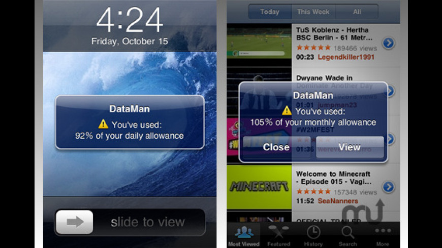DataMan for Mac - review, screenshots