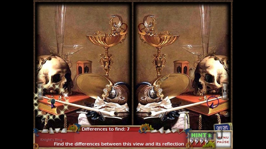 Hidden in Time: Mirror Mirror for Mac - review, screenshots