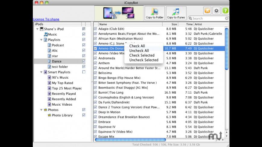 iCopyBot for Mac - review, screenshots
