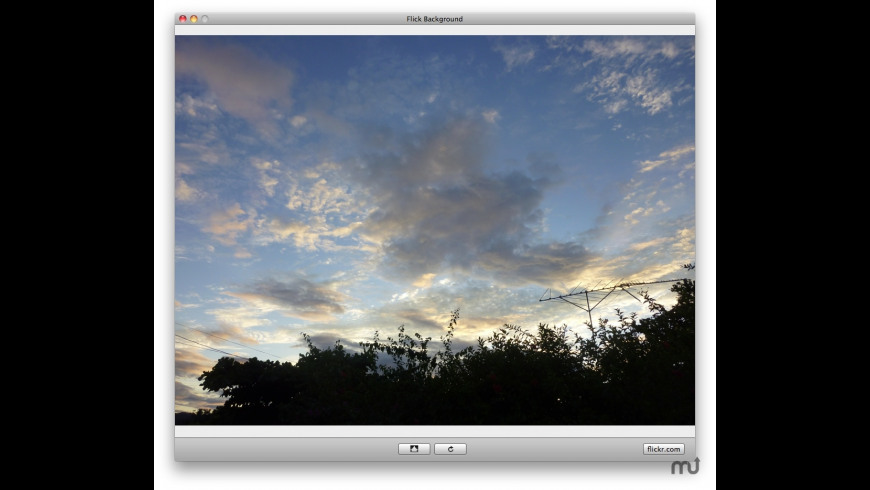 Flick Background for Mac - review, screenshots