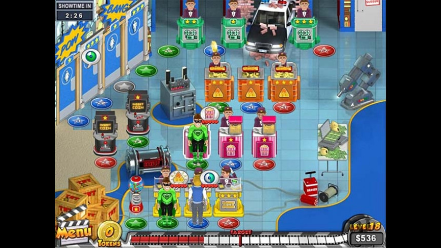Megaplex Madness: Summer Blockbuster for Mac - review, screenshots
