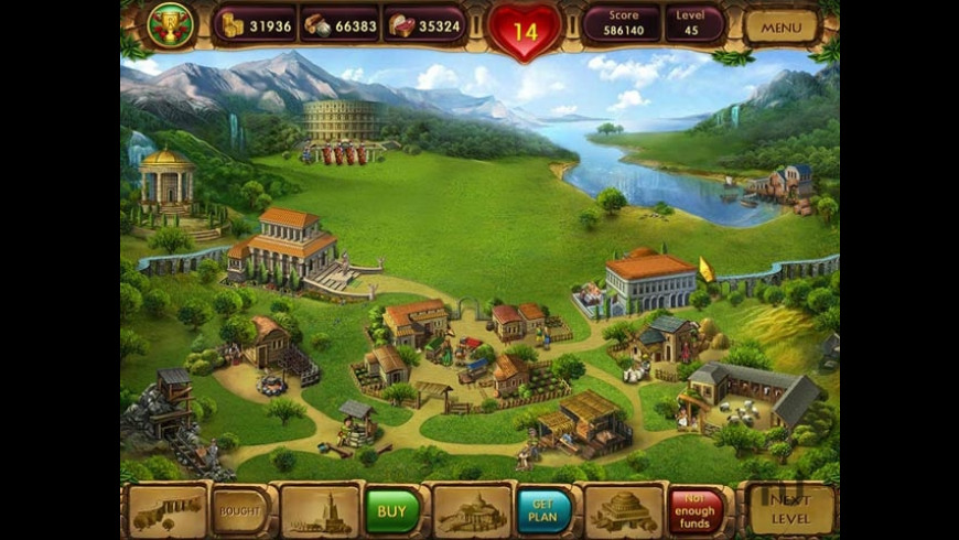 Cradle of Rome 2 for Mac - review, screenshots