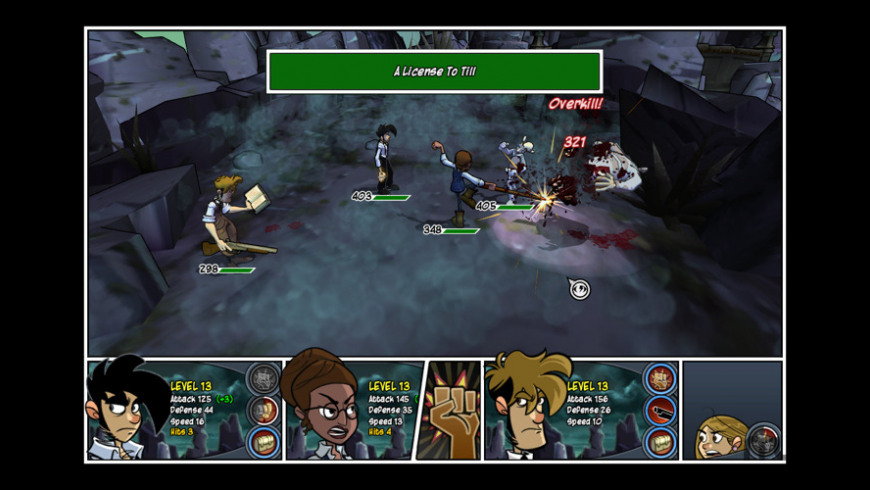 Penny Arcade 2: Precipice of Darkness for Mac - review, screenshots