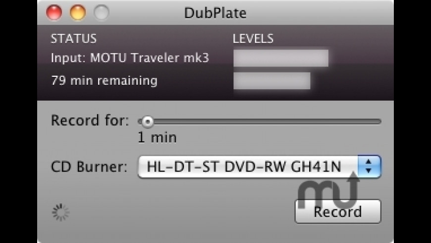 DubPlate for Mac - review, screenshots