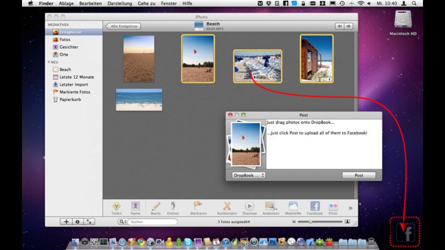 DropBook for Mac - review, screenshots