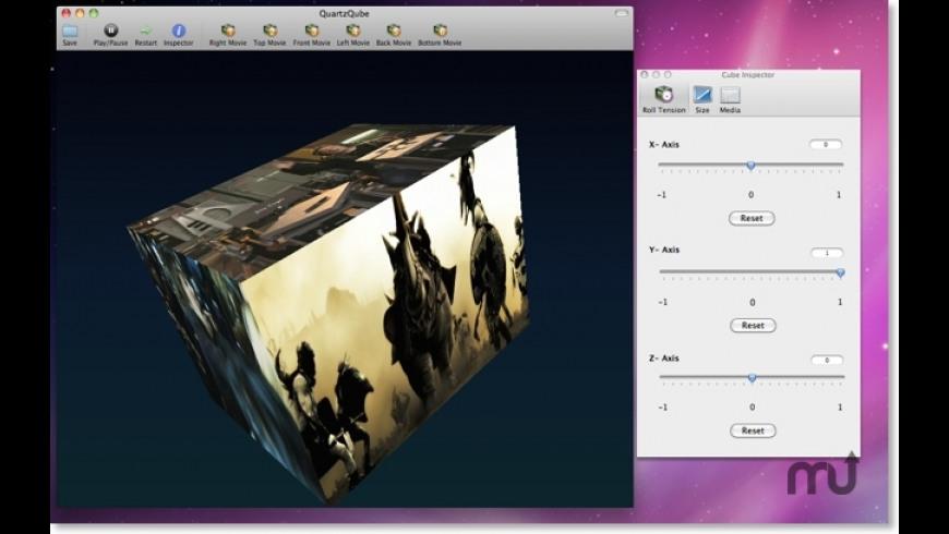 QuartzQube for Mac - review, screenshots