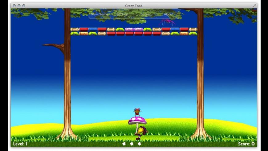 Crazy Toad for Mac - review, screenshots