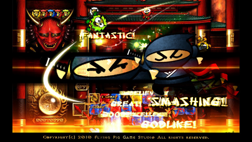 Ninja Puzzle for Mac - review, screenshots
