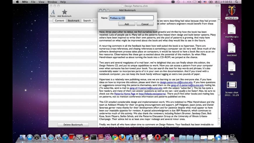 MHz for Mac - review, screenshots