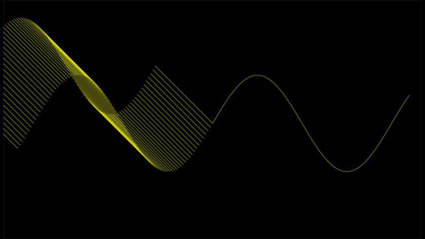Sine Wave Screensaver for Mac - review, screenshots