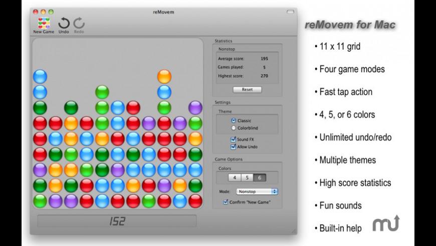 reMovem for Mac - review, screenshots