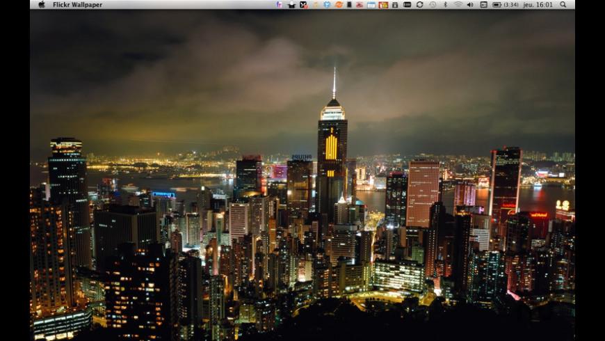 DesktopWallpaper - Flickr Edition for Mac - review, screenshots