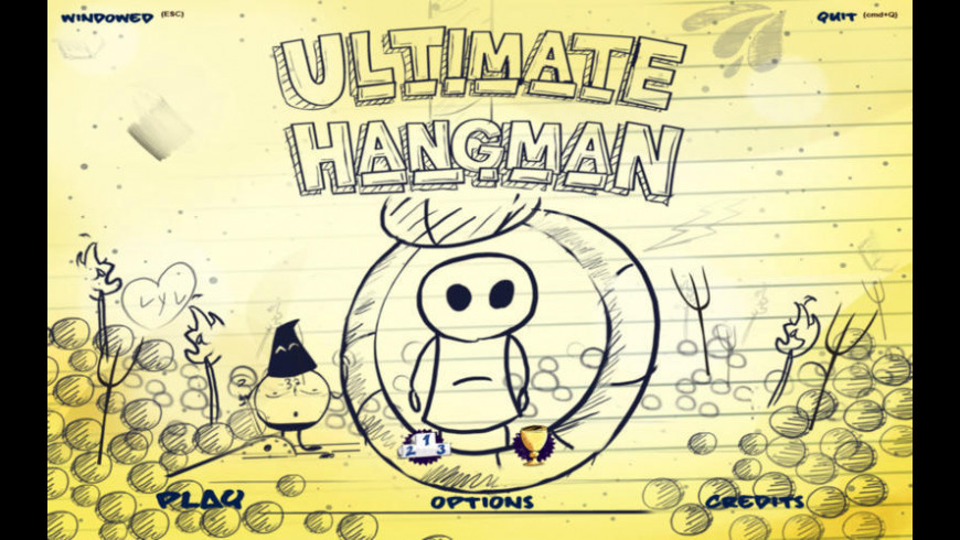 Ultimate Hangman for Mac - review, screenshots