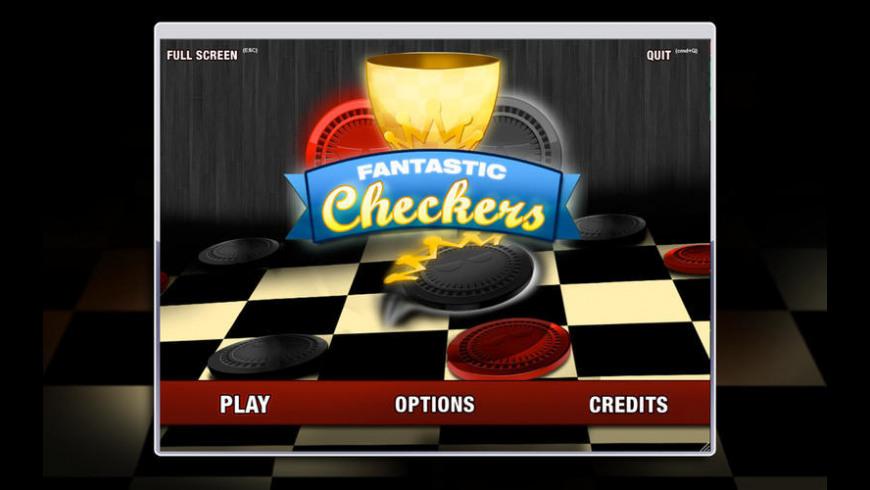 Fantastic Checkers for Mac - review, screenshots