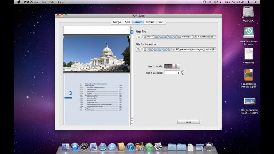 PDF-Suite for Mac - review, screenshots