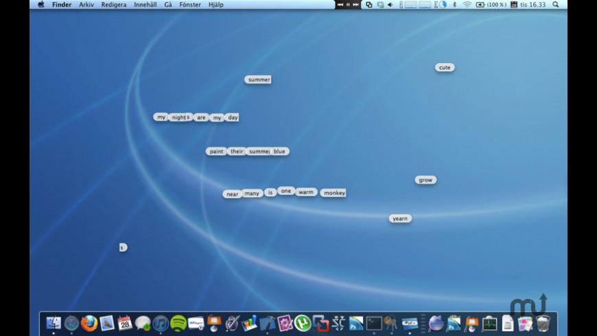 Desktop Poems for Mac - review, screenshots